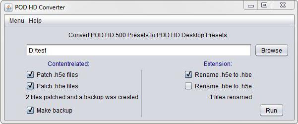 POD HD Preset Tool | www jzab de