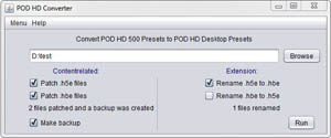 POD HD Preset Tool - jzab de